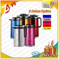 2.0L Stainless Steel Double Thermal Insulation Flask Electric Kettle