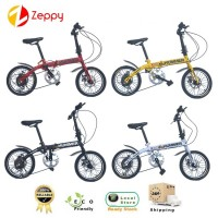 16 Inch Shimano 7 Speed Gear Cycling Folding Bicycle Bike