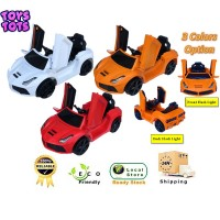 Kids Lamborghini Electric Ride On Car With Flash Light Music and Bluetooth