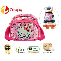 Korean Style Design Cartoon Kitty Kids Girl Sling Shoulder Messenger Bag