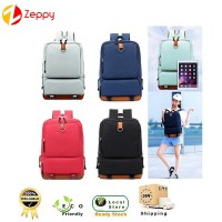 35L Korean Style Premium Oxford Unisex Laptop Outdoor Fashion Backpack bag
