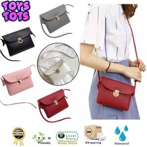 New Fashion Women Retro Casual Pu Leather Shoulder Sling Bag