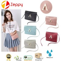 New Style Women Fashion PU Candy V Shoulder Crossbody Sling Bag