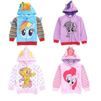 Girl Coat Kids Jacket Hoodies Cotton Clothes