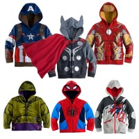 Hooded Boys Jackets Children Outerwear Kids Clothes