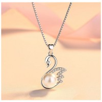 MII Swan Women Sterling Silver Jewelry (without chain)