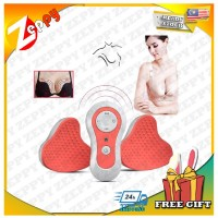 USB Charging Electric Breast Enlargement Chest Massager