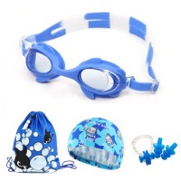 MII Children's Swimming Goggles Cartoon Fish Set