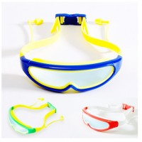 MII Swimming Goggles Glasses with Conjoined Earplugs