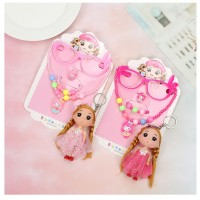 MII Children's Jewelry Girls Jewelry Set Bead Necklace Bracelet