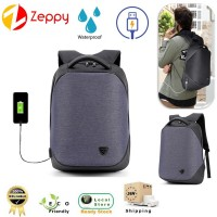 22L Multifunctional USB Charging Business Bag Travel Laptop Backpack