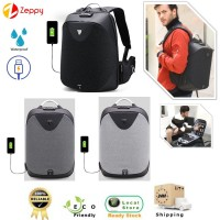 Anti-Theft USB Charging Multifunctional Laptop Bag Business Travel Backpack