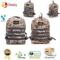 Battlegrounds Canvas Waterproof Bag Outdoor Travel Shoulder Backpack
