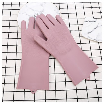 MII Dishwashing Two In One Slip Wear-Resistant Kitchen Dishwashing Gloves