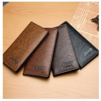 MII Wallet Men Leather Men Wallets Card Holder Coin Purse Men's Long Wallet Bag