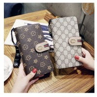 MII  Women Wallet Lady PU Leather Purse Wallet Long Zipper Wallet Bills Coin Purse