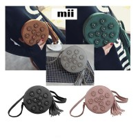 MII 3D Flower Shoulder Bag Women Fashion Tassel Woman Messenger Bags Ladies