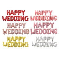 MII Happy Wedding Wording Balloon Set