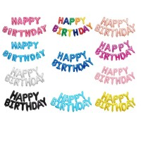 MII Happy Birthday Wording Balloon Set - Design 2