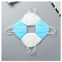 MII 10PCS Three-Layer Blue Dust Mask