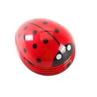 mini ladybug desktop vacuum cleaner