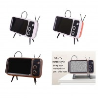 Zeppy Retro TV Phone Stand Suitable All Phone Type Casing Stand Phone Watching Stand