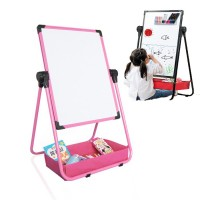 Children's Drawing Board Easel Convertible to Table  Magnetic Writing Board Small Blackboard Home Writing Whiteboard