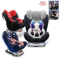 Zeppy 360 Rotation Baby Safety Car Seat ISOFIX Pro 360 Rotation High Quality Baby Car Seat
