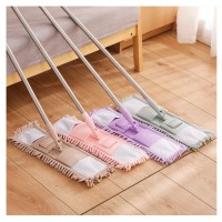 Stainless Steel Chenille Mop Wood Floor Flat Mop Rotary Mop Home