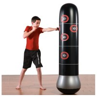 Inflatable Boxing Column Children's Fitness Decompression Sandbag Thickened Children's Inflatable Tumbler
