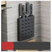 Punch Wall Mounted Kitchen Knife Holder Rack