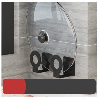 Punch Wall Mounted Kitchen Lid Cutting Board Holder