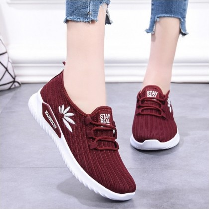 KAPEE 2020 New Women Flying Woven Casual Sport Shoes