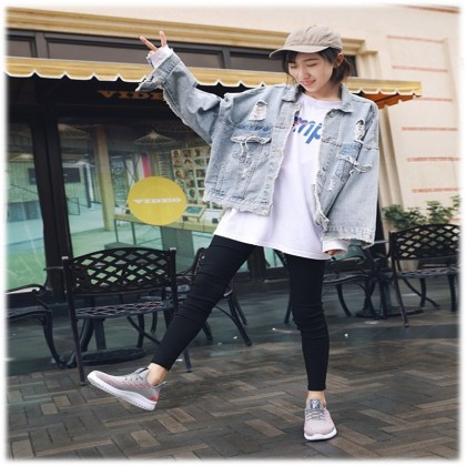 KAPEE 2020 Summer New Casual Sport Running Net Cloth Ladies Shoes