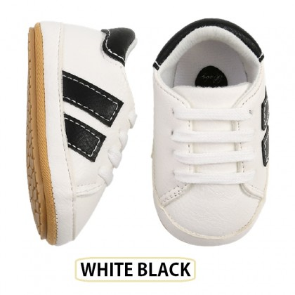 KAPEE 0-1 Year Baby Sports Soft-Soled Shoes Toddler Sneakers Soft Anti-Slip Sole