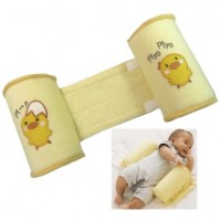Baby Anti Roll Pillow Toddler Safe Sleep Flat Support Pillow