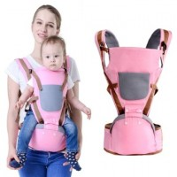 baby hipseat wrap 360 hip seat Ergonomic  Pink
